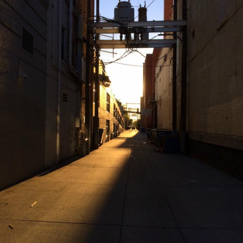 alley shadows