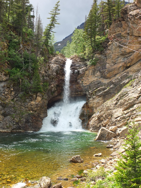 Running Eagle Falls - short nature trail here