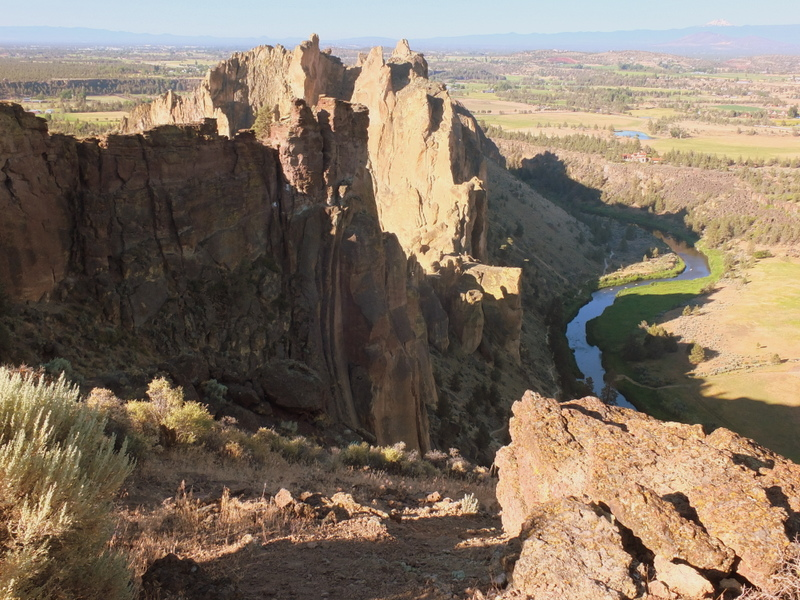 back side of Smith Rock