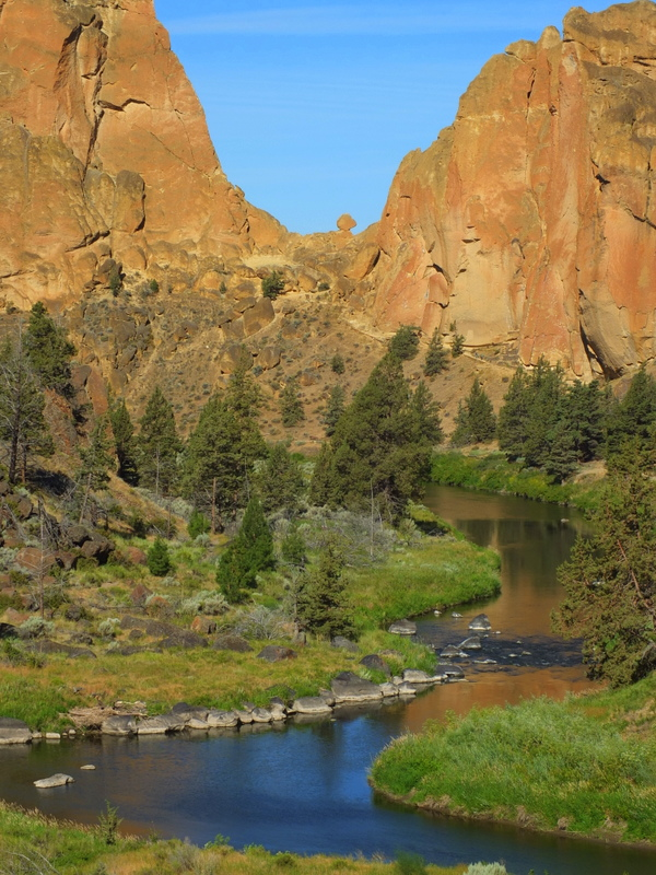 Smith Rock view