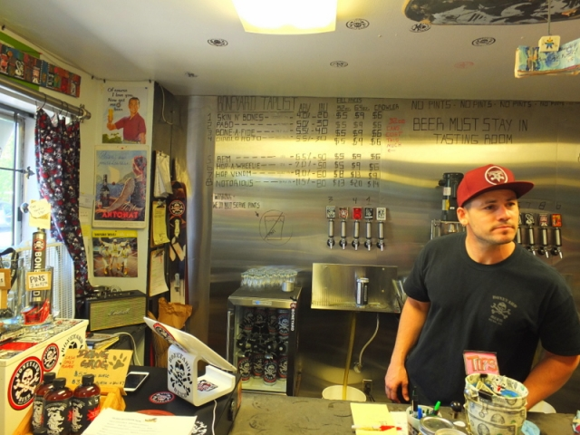 Boneyard tasting room