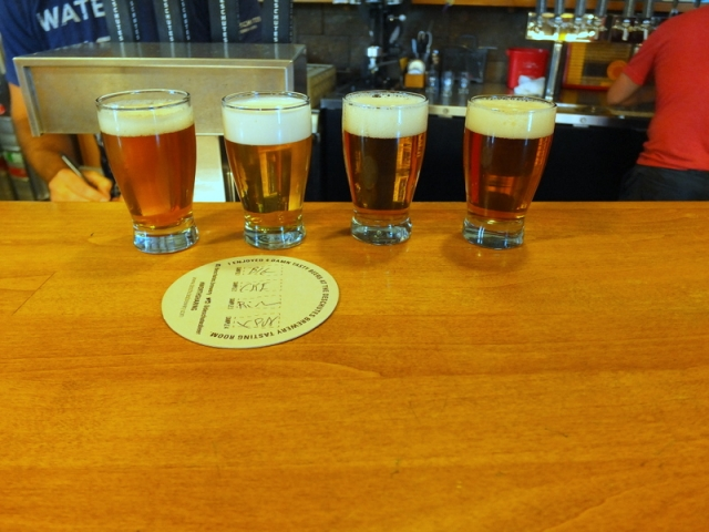 sampling at Deschutes