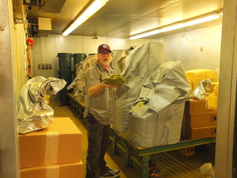 Deschutes hops storage