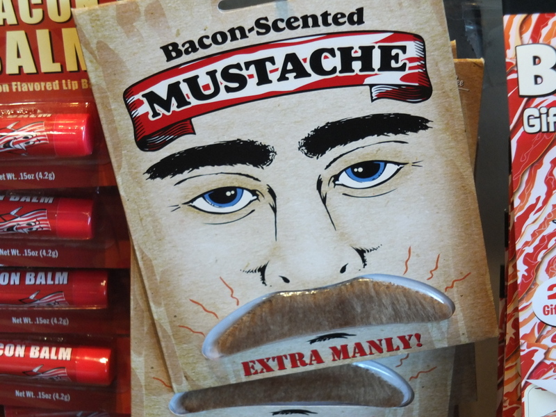 if you need a fake mustache ... extra manly