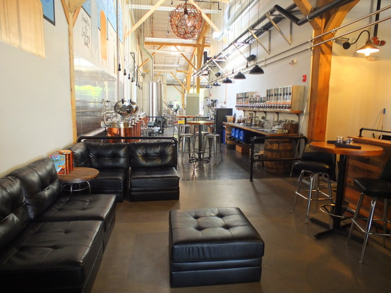 Immersion Brewing tap room
