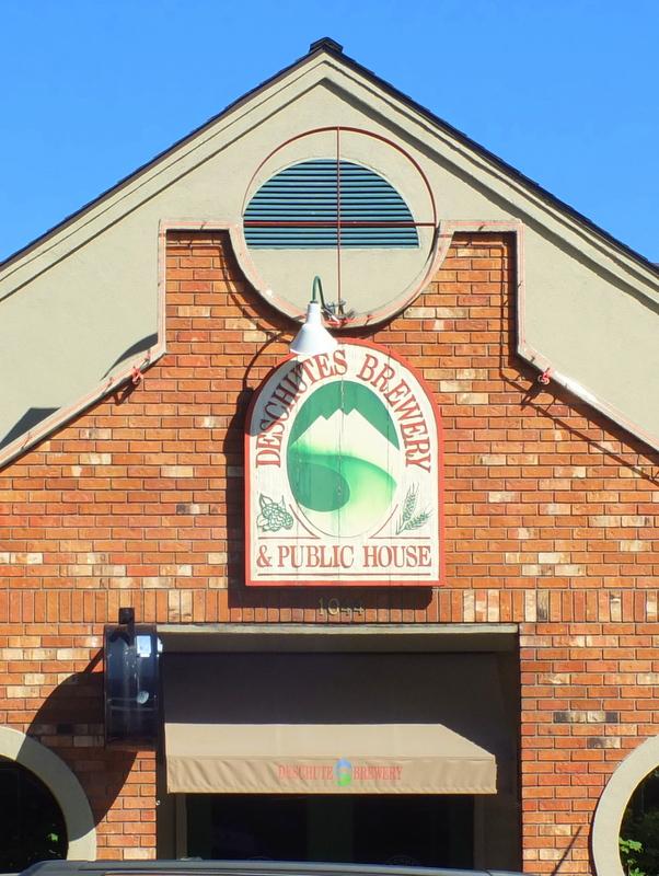 Deschutes brew pub