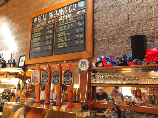 Bend Brewing Company line-up