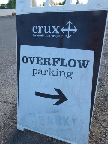 tough park at Crux