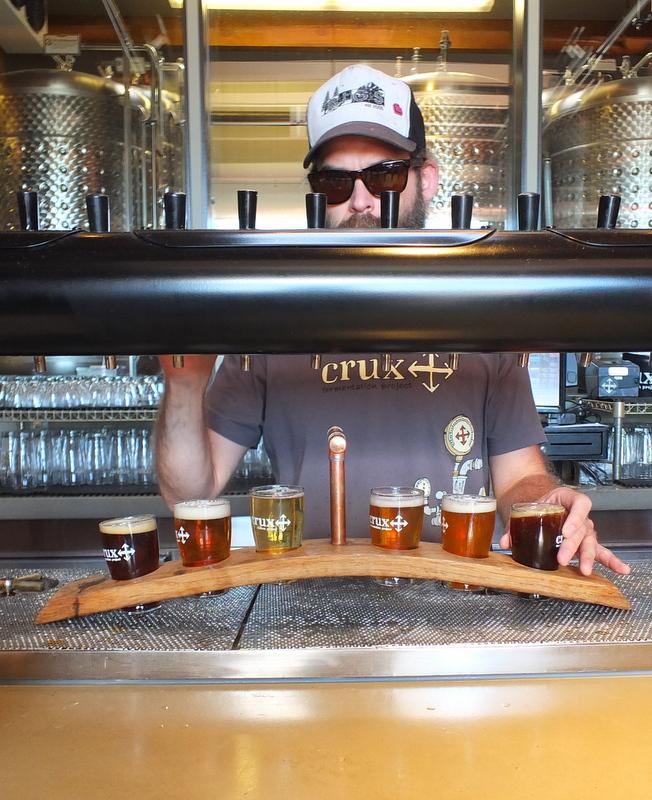 hipster beertender