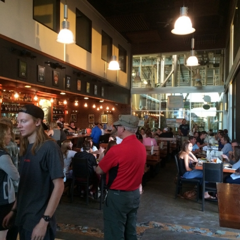 Worthy Brewing tap room