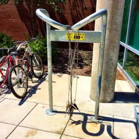 public bike tool rack