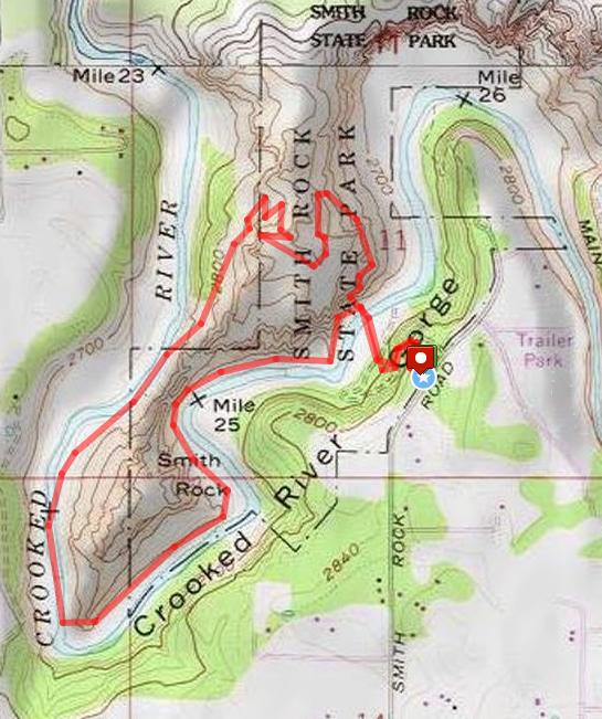 Smith Rock Loop Hike