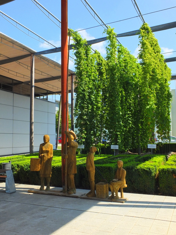 German Hops Museum in Wolnzach
