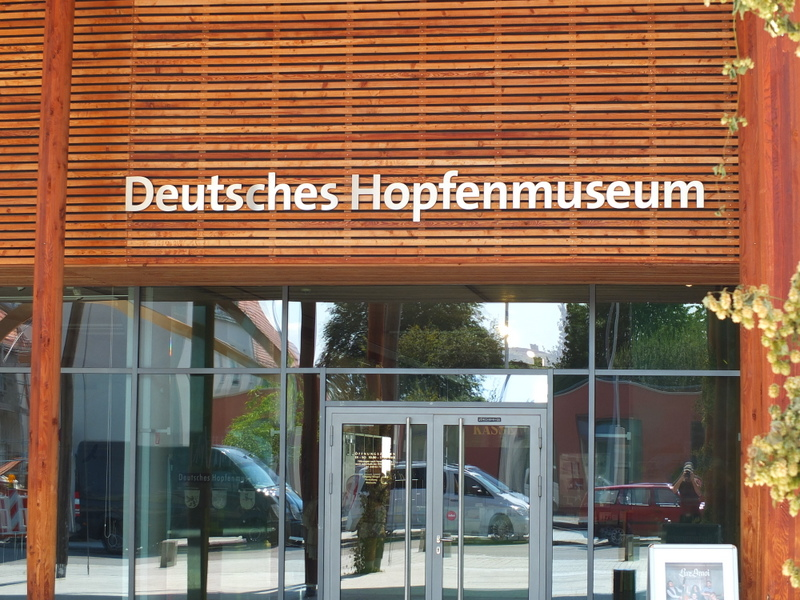 German Hops Museum in Wolnzach