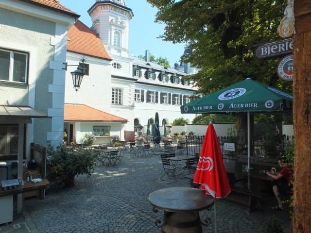 bier garden - Schlossbrauerei Au-Hallertau