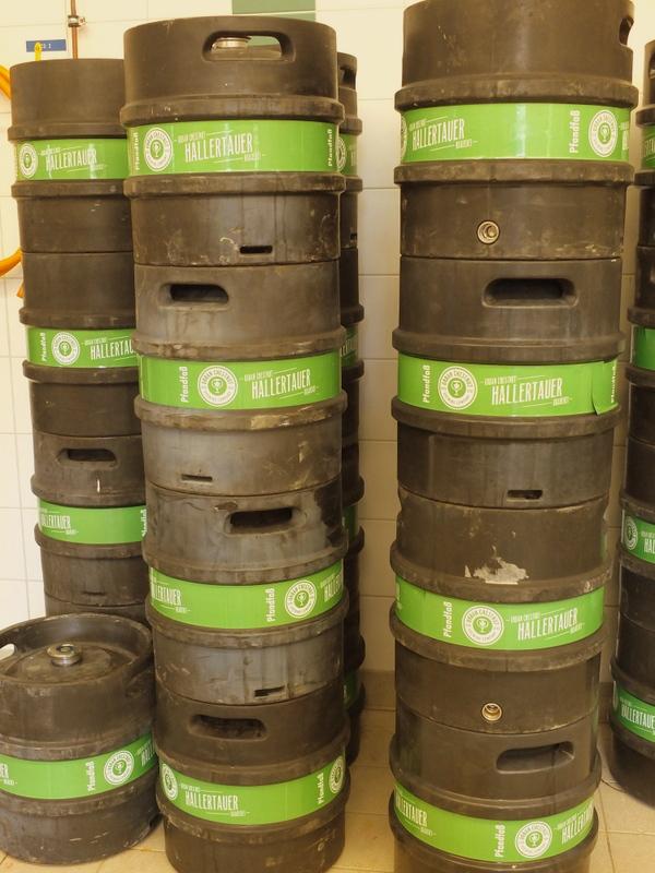 Urban Chestnut brew house -- Wolnzach