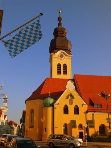 church at Wolnzach