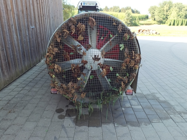 sprayer fan