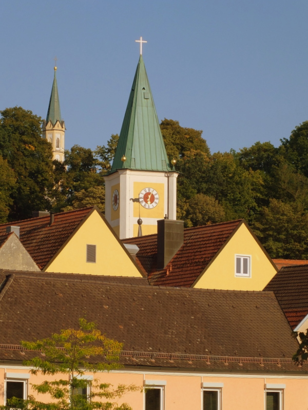 Mainburg steeples