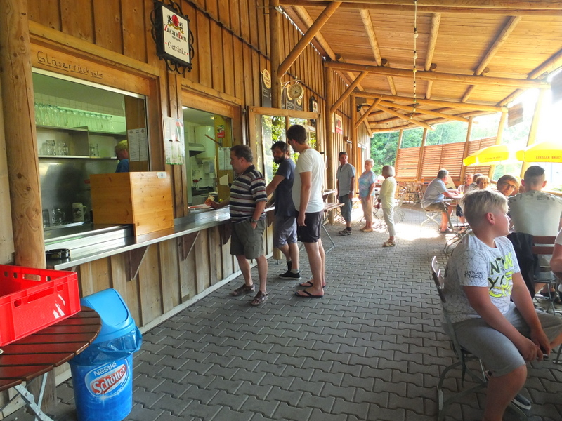 Ziegler Brau beer garden - Mainburg