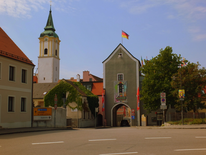 One of Abensberg's gate towers