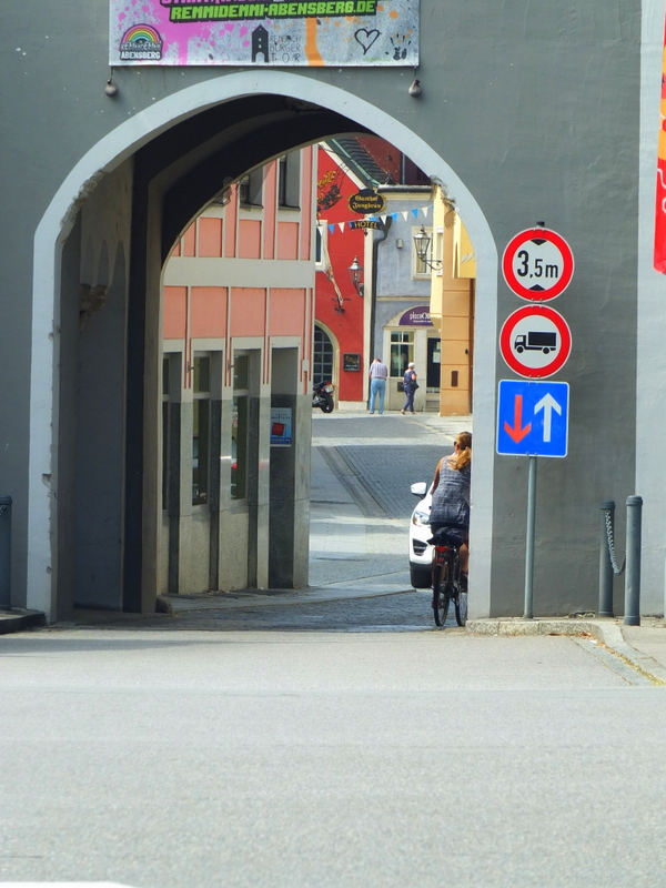 another gate into the center of Abensberg