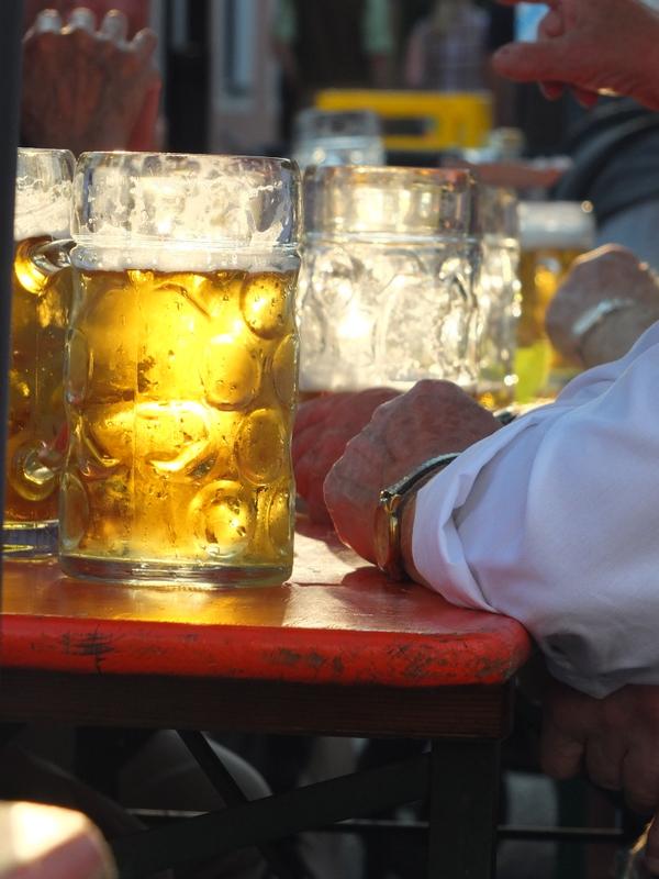 sundown Maß at Siegenburger Burgerfest