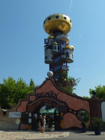 Biergarten at Kuchlbauer Beer World - Abensberg