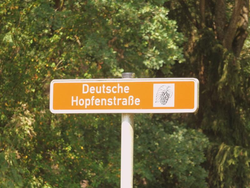 German hops street