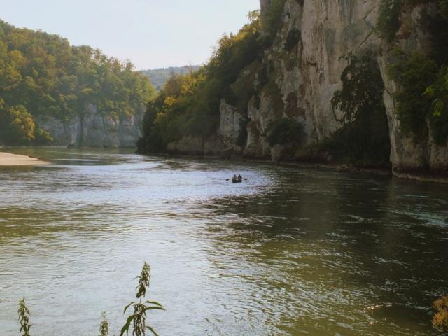 Weltenberg by canoe