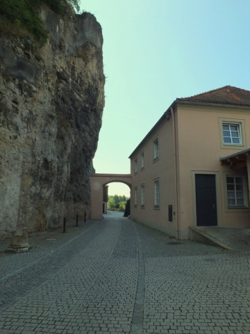 Kloster Weltenberg - between a rock and a hard place