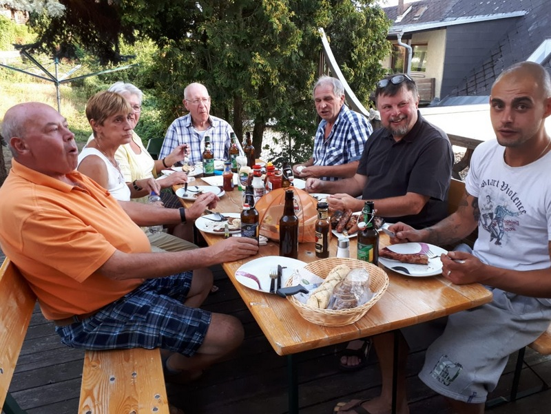 Barbecue at Pension Anker