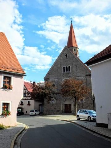 church at Falkenberg