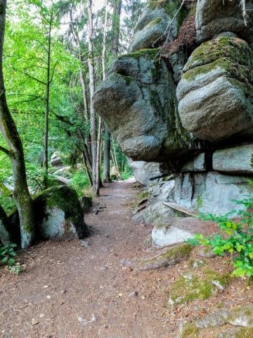 massive granite formation
