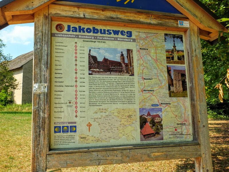Jakob's Weg kiosk