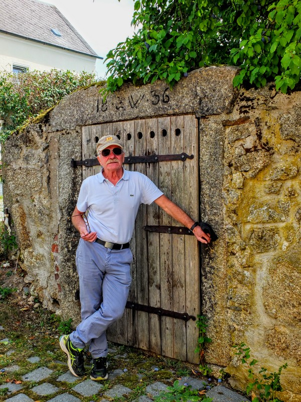 Ferdl at one of the lagering cellars