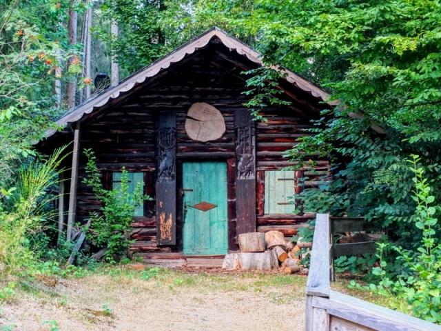 Die Blockhütte