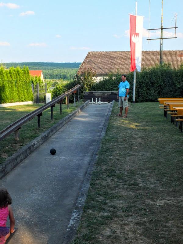 bowling at Rittmayer's
