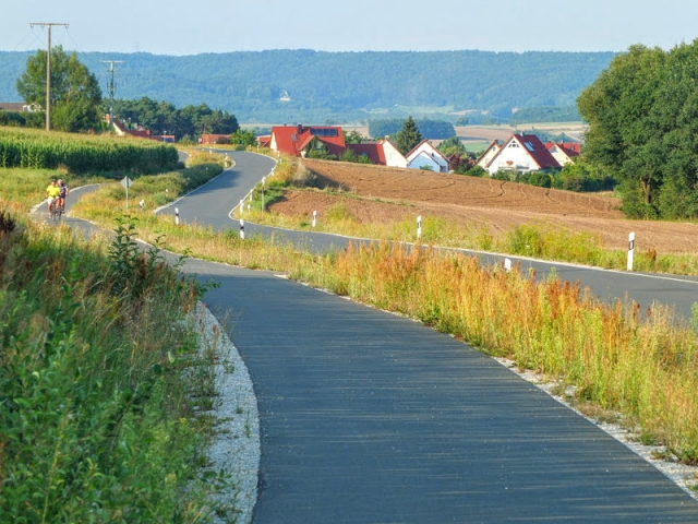 route to Schlammersdorf