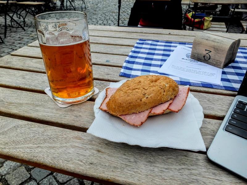 lunch at Schafferhof Zoiglstube