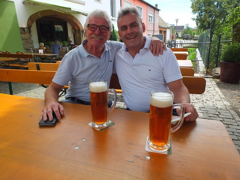 Ferd & George Forster , proprietor and master brewer of Wolframstubn