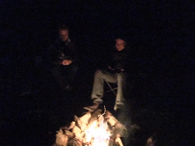 campfire - Carson National Forest
