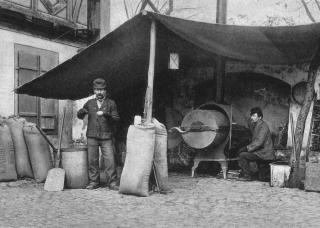 Weyermann's got their start roasting malt for use as a coffee substitute