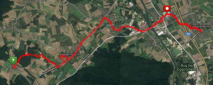 Kreuzberg Keller Hike Route – click on image for interactive route map