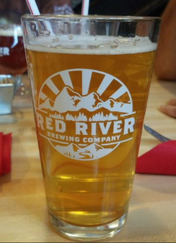 Red River Brewing Company Lazy Bear Blonde