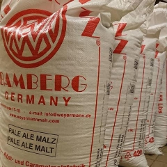 bags of malted barley