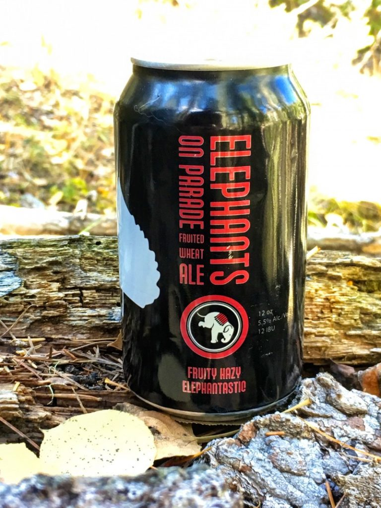after hike beer