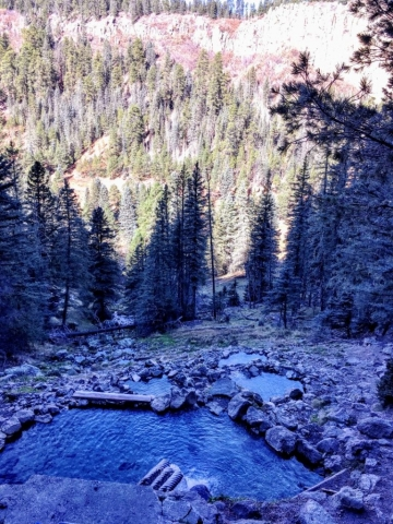 multiple soaking pools