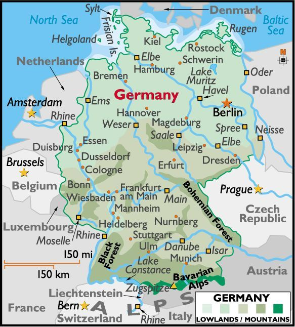 Map Of Southern Germany With Cities.Crossing The Bavarian Alps Prime Passages