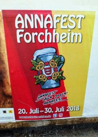 Annafest poster